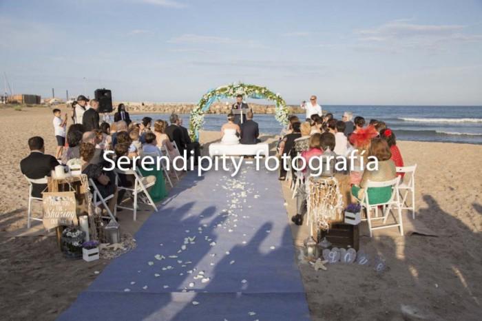 Una boda en Salones Mar Blau